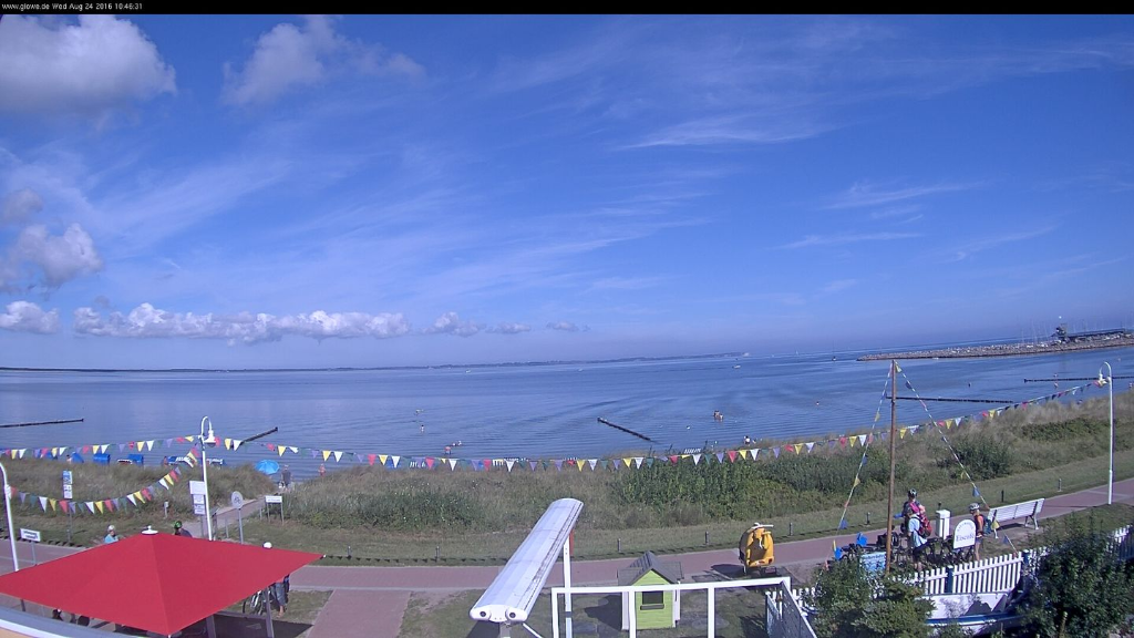WebCam-Standbild Sommer 2017